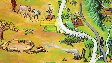 Pangani river basin – Illustration, 2004